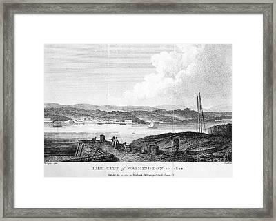 Washington, D.c., 1800 Framed Print by Granger