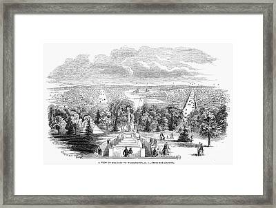 Washington, D.c., 1853 Framed Print by Granger