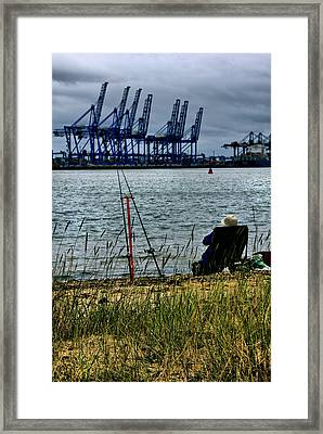 Watching The World Go By Framed Print by Darren Burroughs