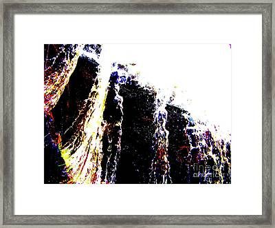 Water Falls Framed Print by Rogerio Mariani