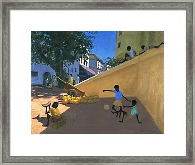 Water Melons Framed Print by Andrew Macara