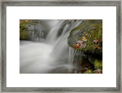 Water Movement Detail 20 Framed Print