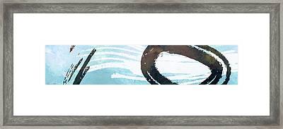 Water Stone Framed Print by Nomi Elboim