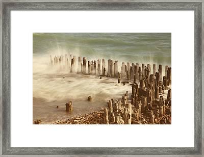 Waves Framed Print by Joana Kruse