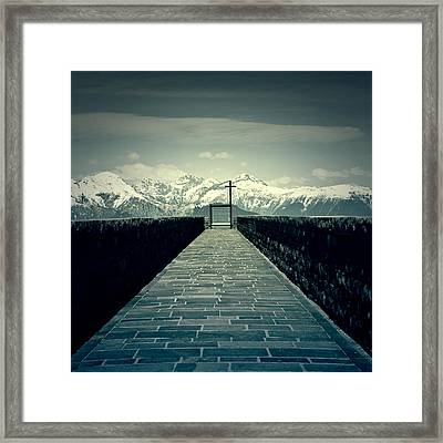 Way To Heaven Framed Print by Joana Kruse