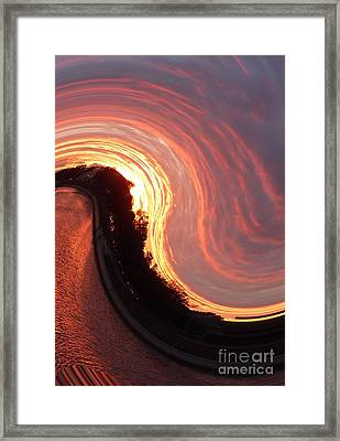 Ways Of Thinking  Feeling And Acting Framed Print by Alisa Tek