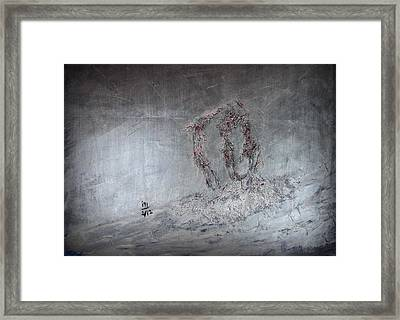 we Framed Print by Rosemen Elsayad