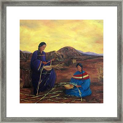 Weavers Framed Print