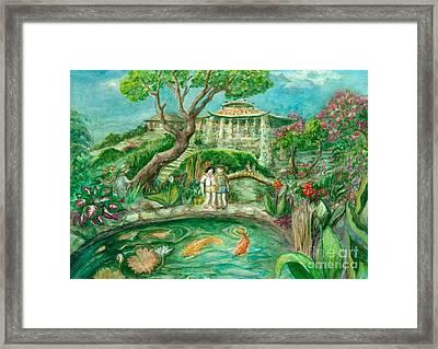 We're In Wonderland Framed Print by Lynn Maverick Denzer