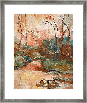 West Fork 2 Framed Print by Sandy Tracey