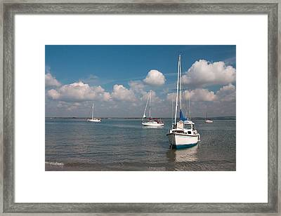 West Wittering Framed Print by Shirley Mitchell