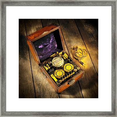 Wheatstone Bridge Framed Print