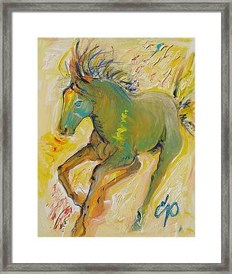 Wildish Mane Framed Print