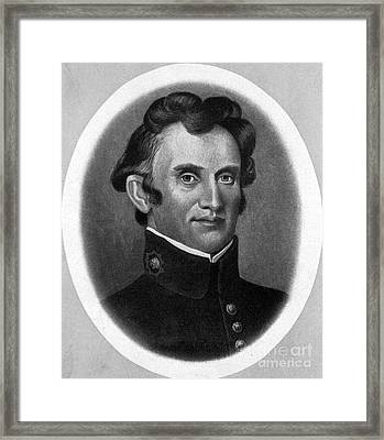 William Beaumont, American Surgeon Framed Print by Science Source