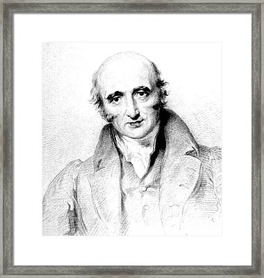 William Hyde Wollaston, English Chemist Framed Print