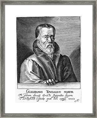 William Tyndale (1492?-1536) Framed Print