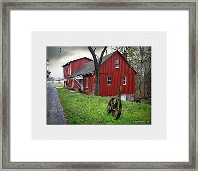 Williston Mill Framed Print by Brian Wallace