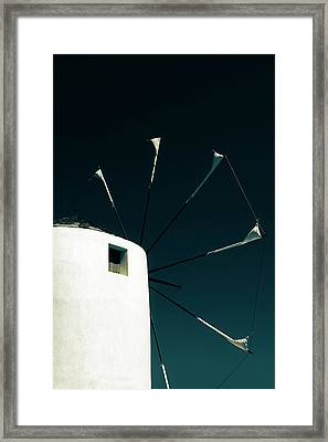 Windmill Framed Print by Joana Kruse