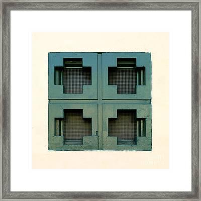 Windows Framed Print by Henrik Lehnerer