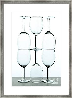 Wine Glasses Framed Print by Blink Images