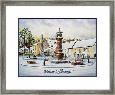 Winter In Twyn Square Framed Print