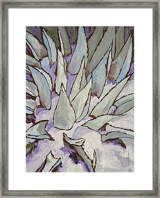 Winter Snow Framed Print by Sandy Tracey