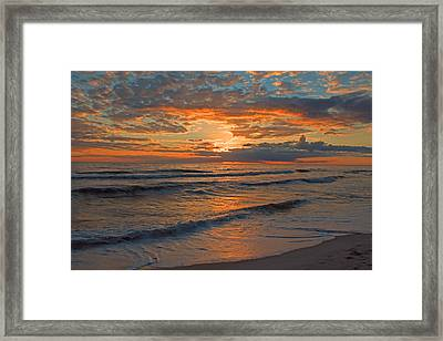 Wish You Were Here... Framed Print by Dave Alexander