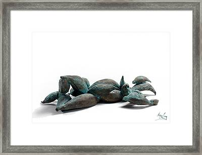 With Seed Framed Print by Adam Long