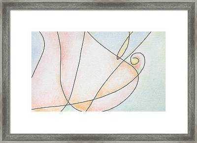 Woman Framed Print by Dave Martsolf