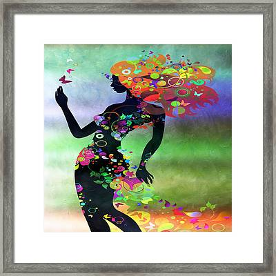 Wondering 2 Framed Print