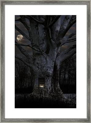 Woodland Home Framed Print by Ron Jones