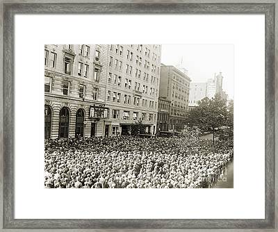 World Series, 1925 Framed Print