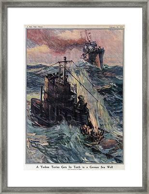 World War I, The New York Tribune Framed Print