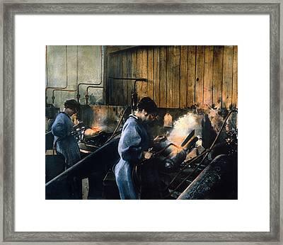 World War I: Women Workers Framed Print by Granger