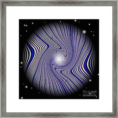 Wormhole Trip Framed Print by Pet Serrano