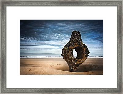 Yorkshire Coast Framed Print by Svetlana Sewell