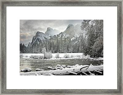 Yosemite National Park, California, Usa Framed Print by Robert Brown