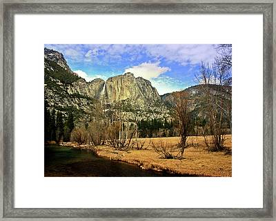 Yosemite National Park Framed Print by Luiz Felipe Castro