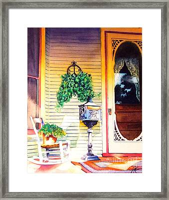 Youve Got Mail Framed Print by Greg and Linda Halom