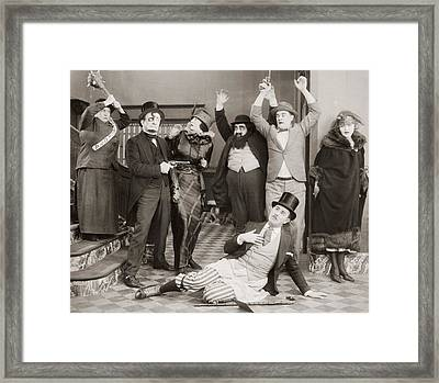 10 Dollars Or 10 Days, 1924 Framed Print by Granger