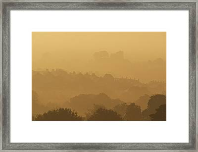 None Framed Print by Ian Cumming