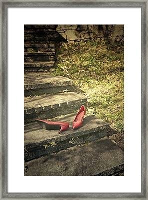 Pumps Framed Print by Joana Kruse