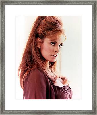 Raquel Welch, 1960s Framed Print