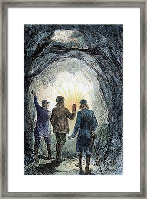 Verne: Journey Framed Print by Granger