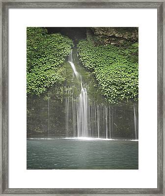 1004-1936 Natural Falls State Park 3 Framed Print by Randy Forrester