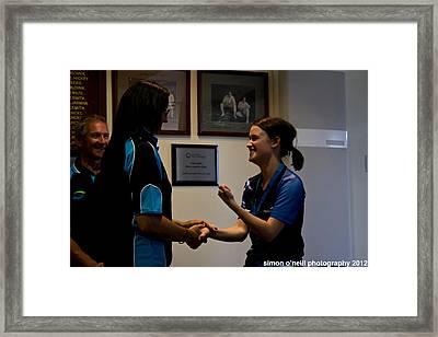 Australian Deaf Games 2012 Framed Print by Edan Chapman