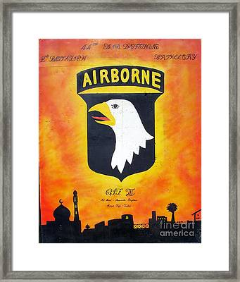 101st Airborne - Oif IIi Framed Print by Unknown
