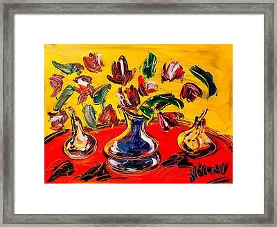 Flowers Framed Print by Mark Kazav