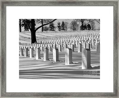11 - 11 - 11 Framed Print by David Bearden