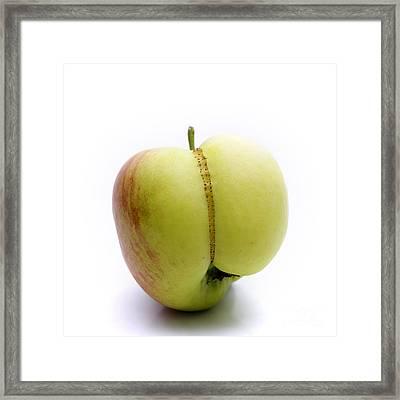 Apple Framed Print by Bernard Jaubert